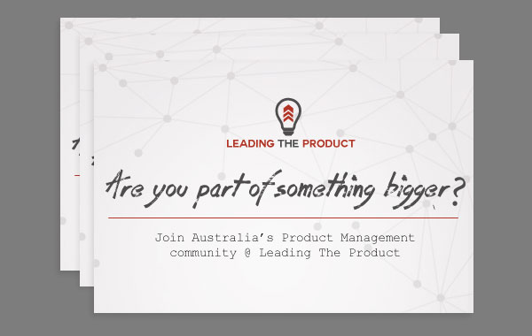 Leading The Product Postcard